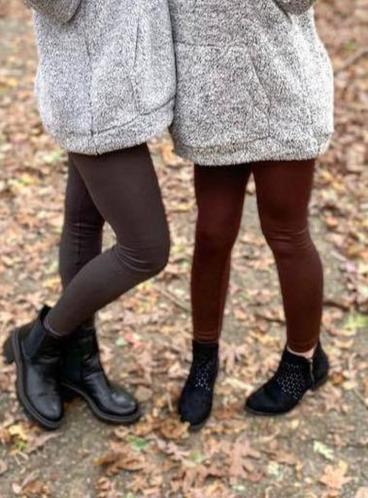 PF Fleece Lined Leggings - Cozy Calla Lily Boutique