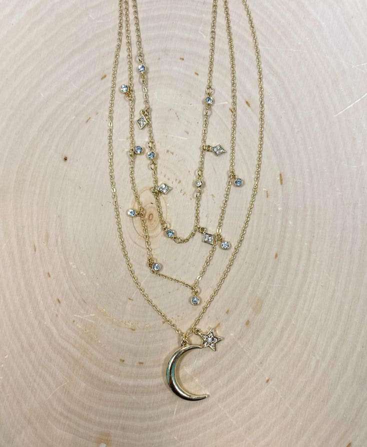 Starry Night Necklace - Cozy Calla Lily Boutique