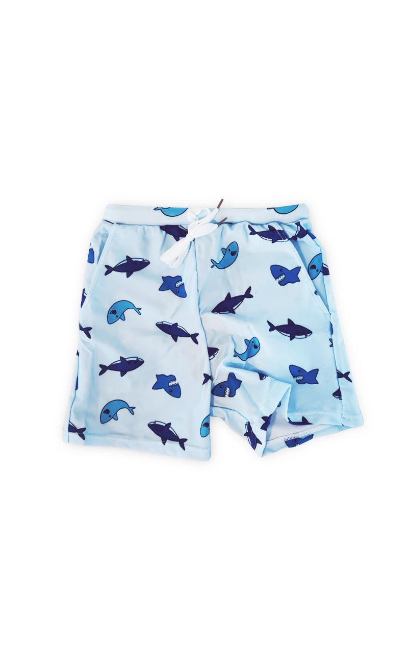 Friendly Shark Board Shorts