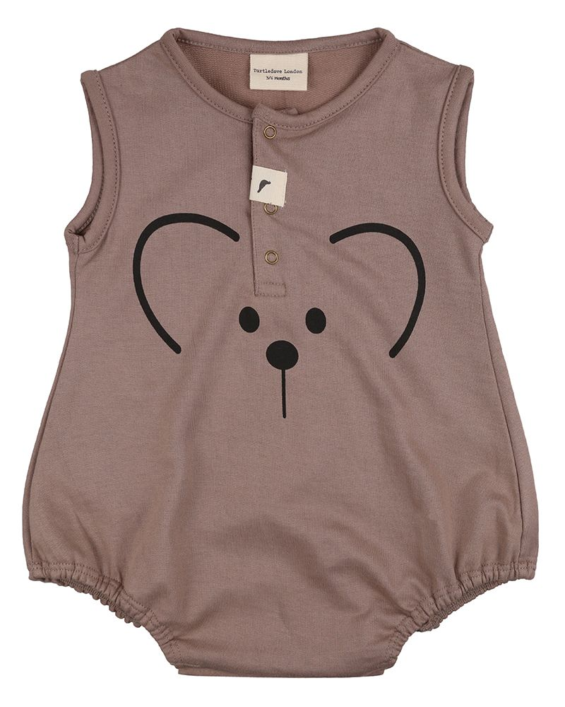 Bear Bubble Romper