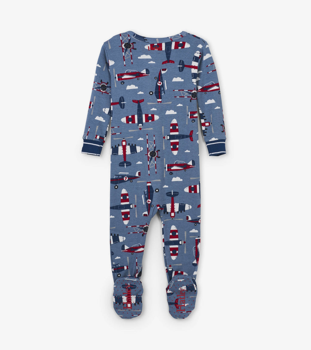 plane printed pajama for baby boy