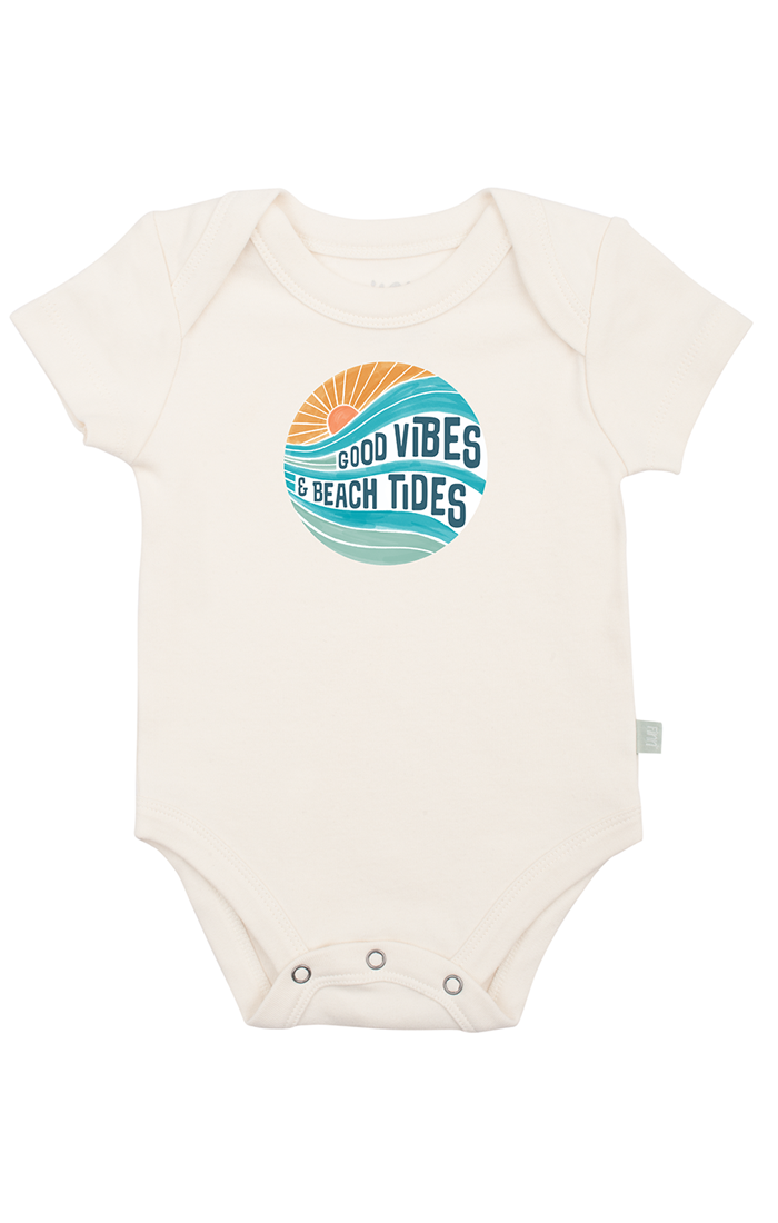 Good Vibes & Beach Tides Bodysuit
