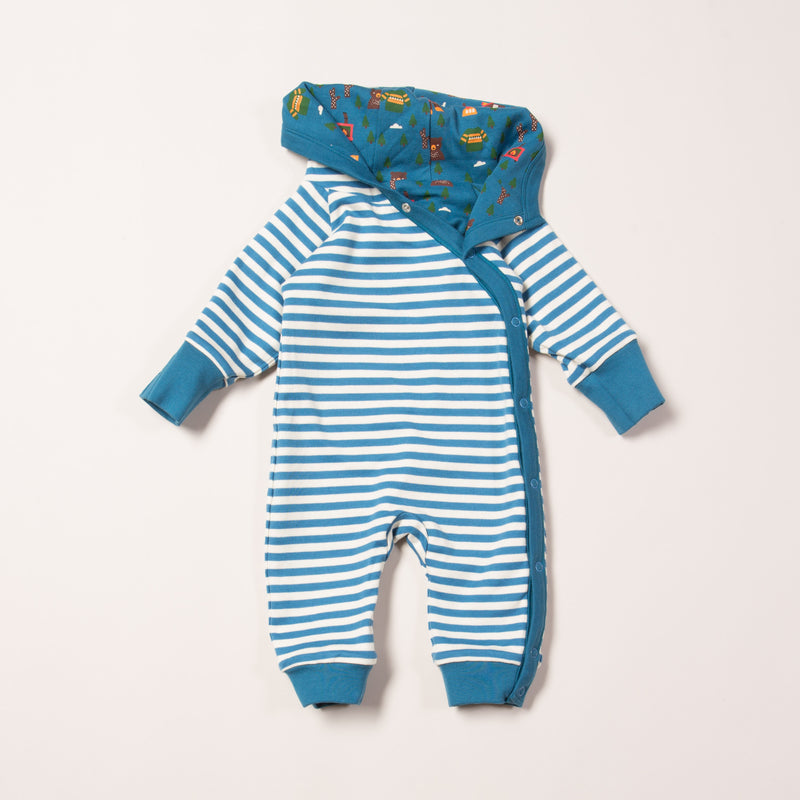 Nordic Forest Snug as a Bug Reversible Playsuit
