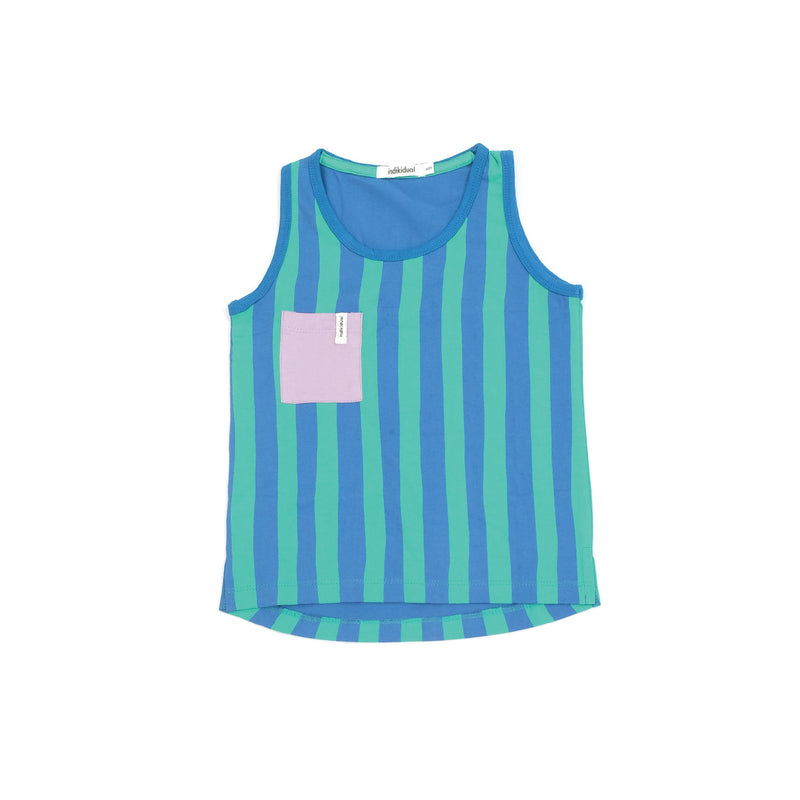 Mint Stripe Tank