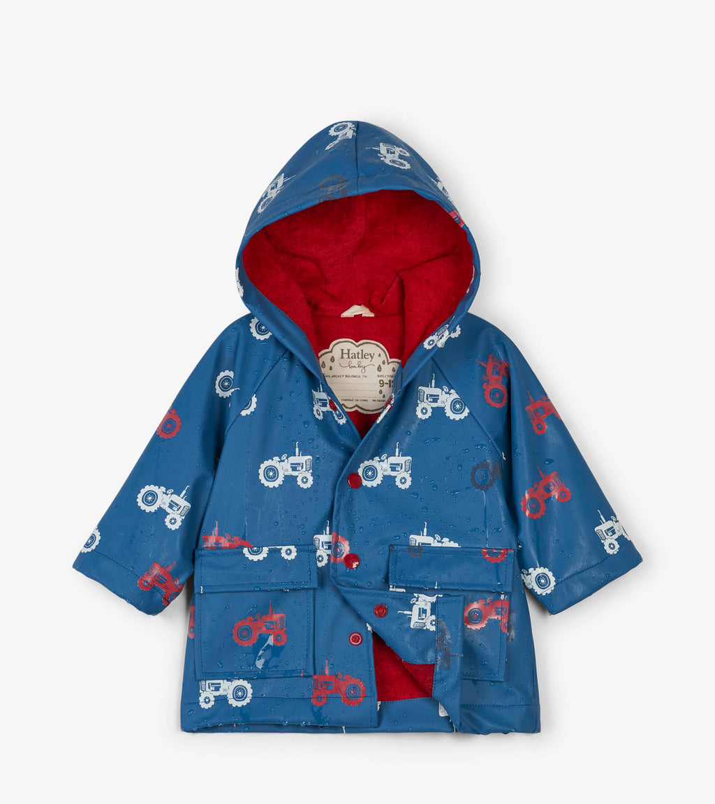 raincoat for baby boys that changes color when wet