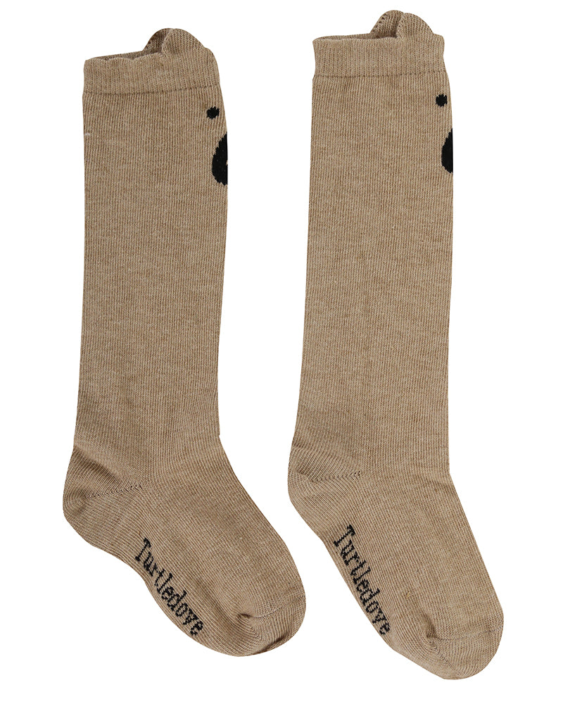 Brown Bear Knee Highs