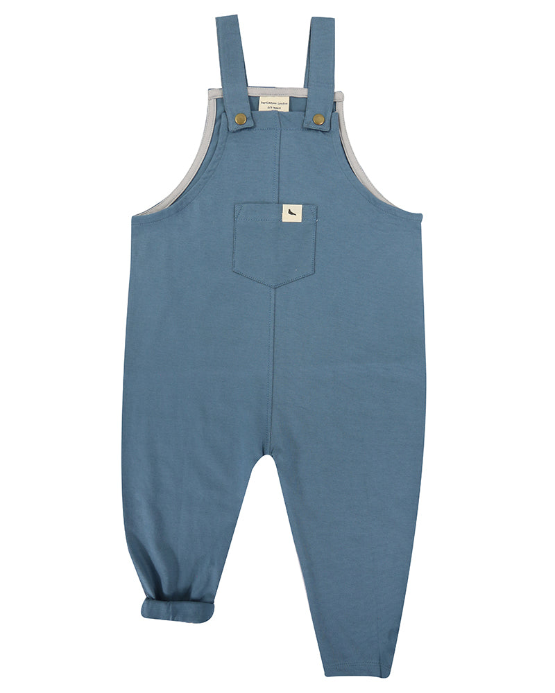 Plain Petrol Easy Fit Overalls