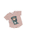 Dino Bear Stripe T-Shirt