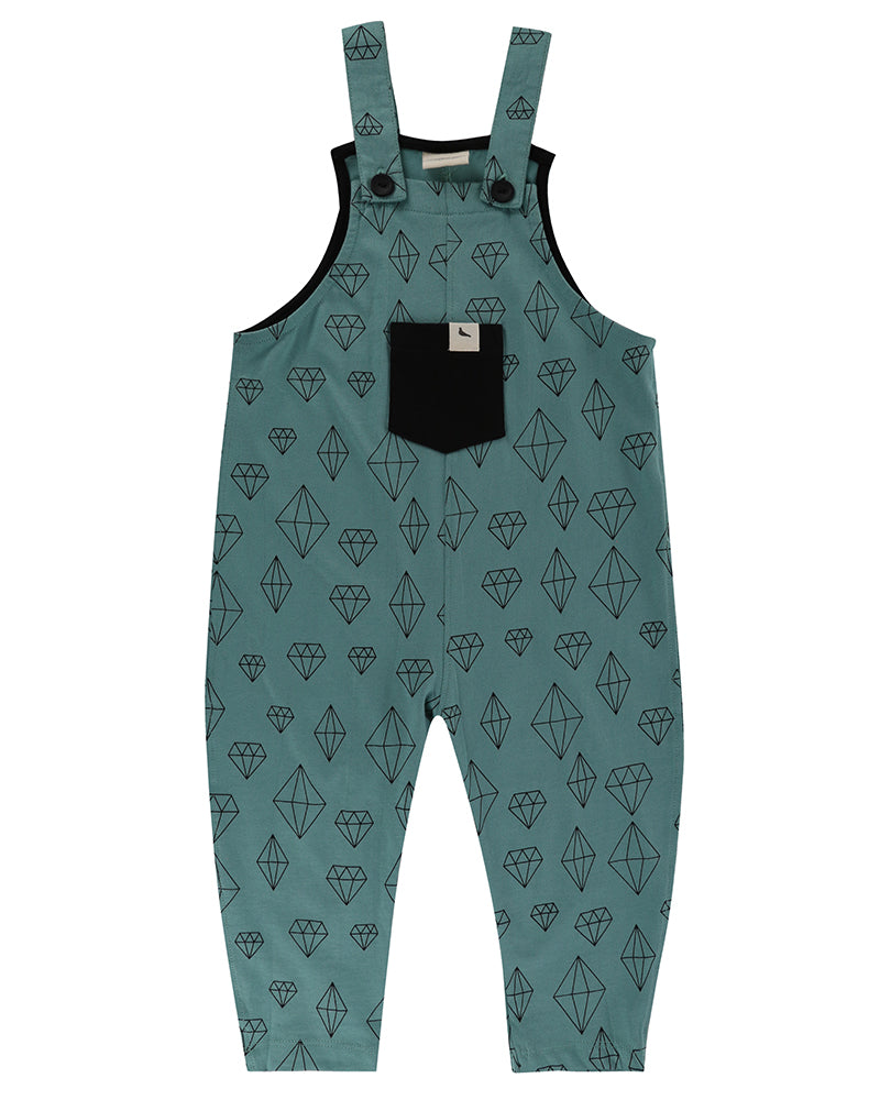 Crystals Easy Fit Dungaree