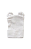 White Baby Bear Newborn Beanie
