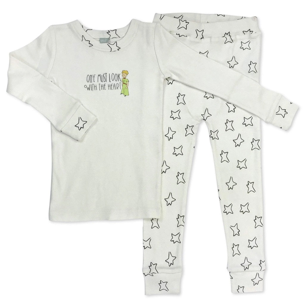 The Little Prince Off White & Star Pajamas
