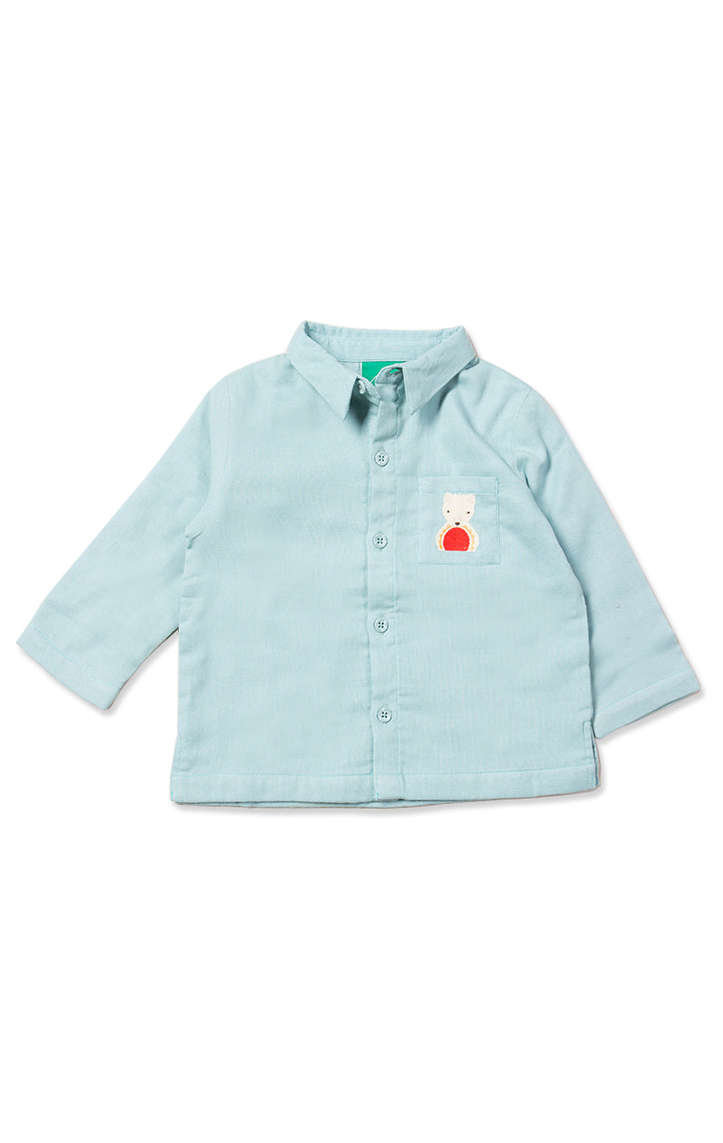 Polar Bear Embroidered Shirt