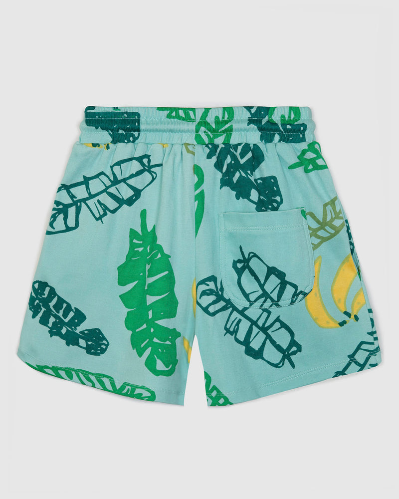 Banana Leaves Bermuda Shorts