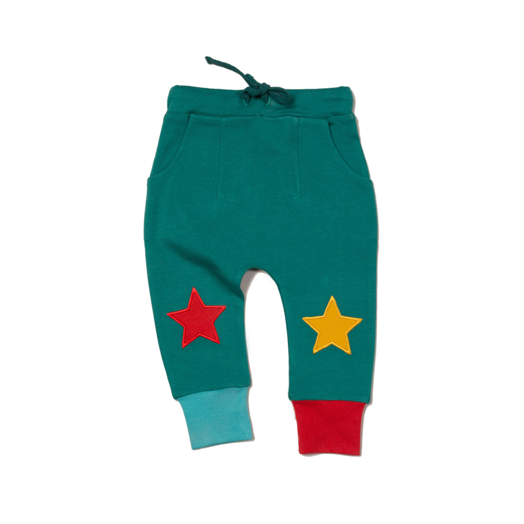 Sea Green Star Joggers