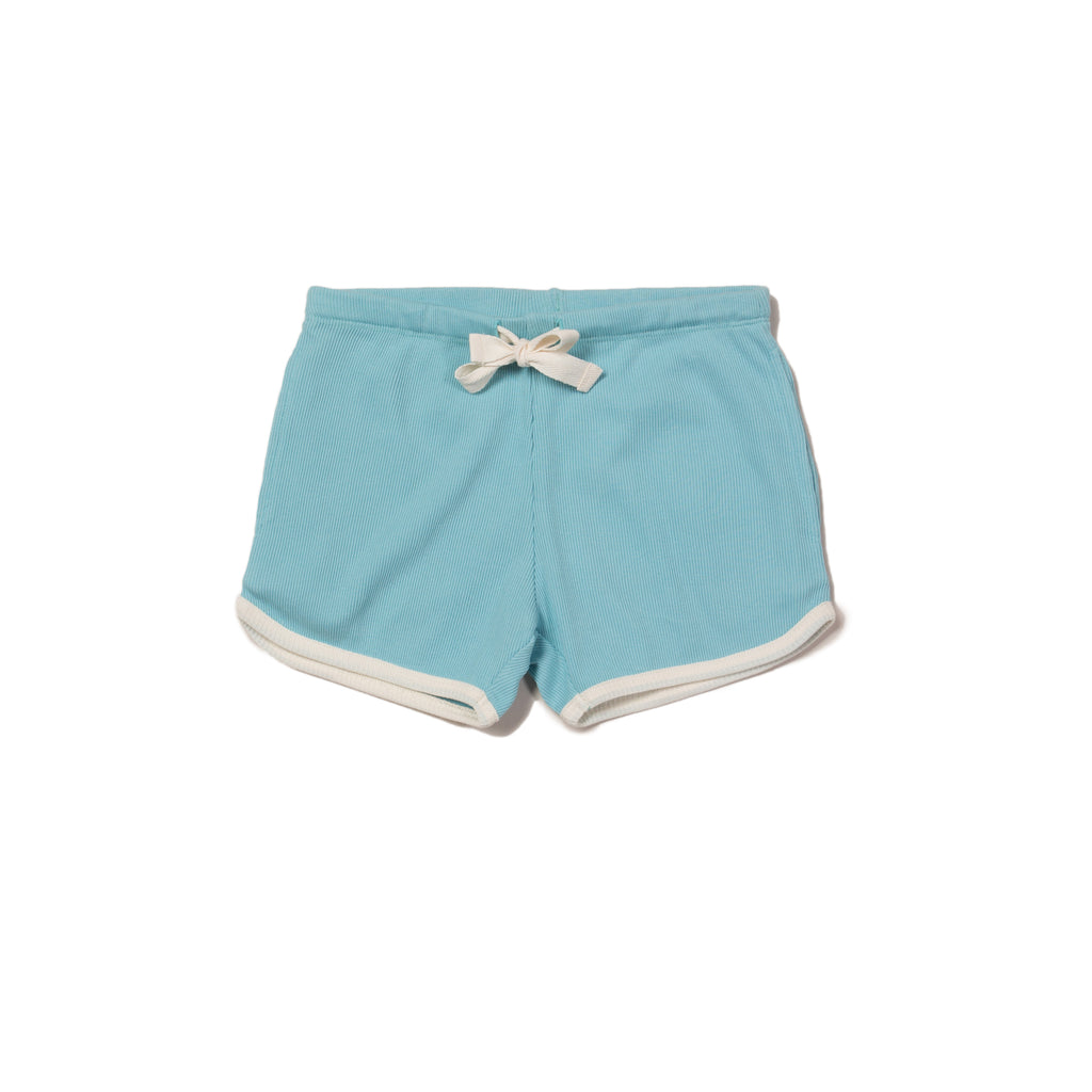 Corn Silk Rib Essential Shorts