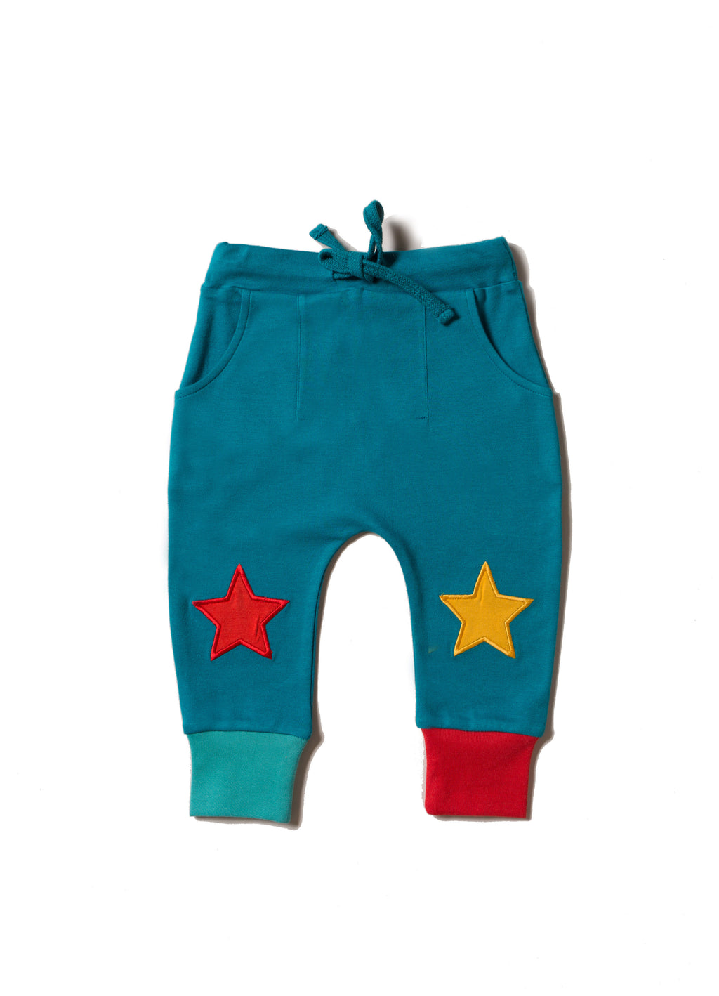 Teal Star Joggers
