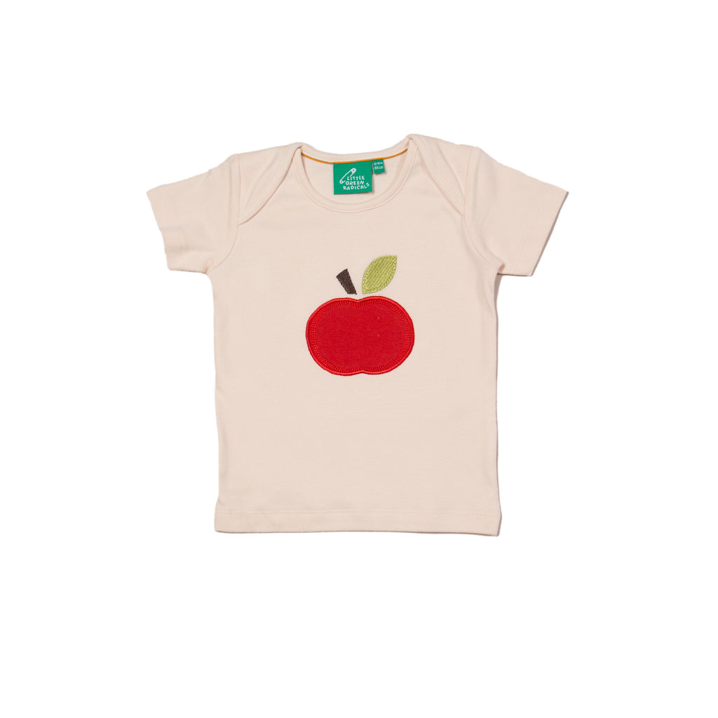 An Apple a Day Applique T-Shirt