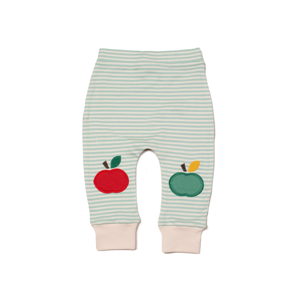 Powder Blue Apple Joggers