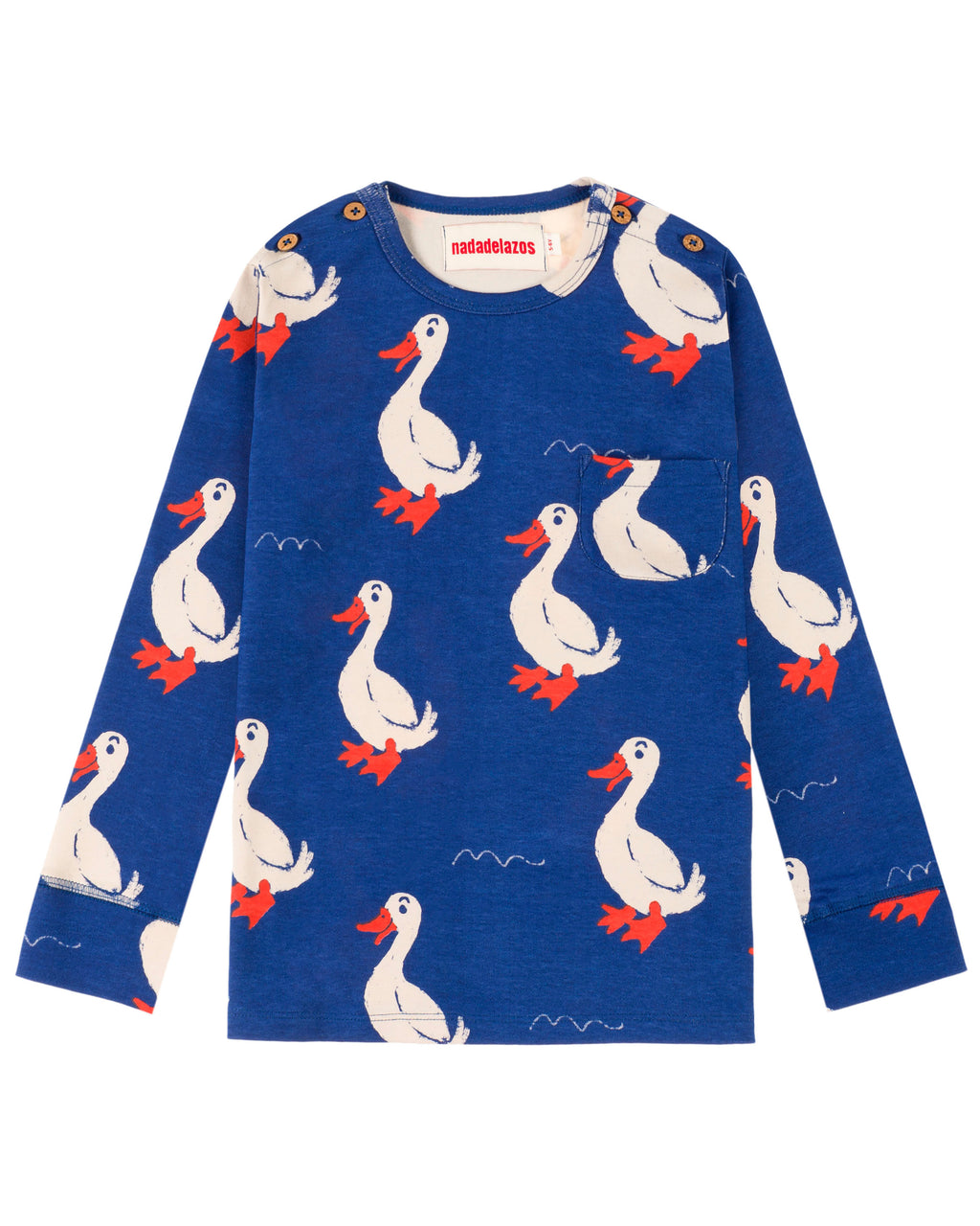Dagmar the Duck Long Sleeve T Shirt