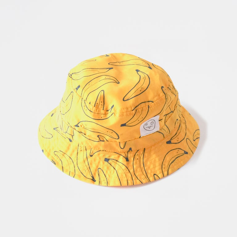 Banana Print Bucket Hat