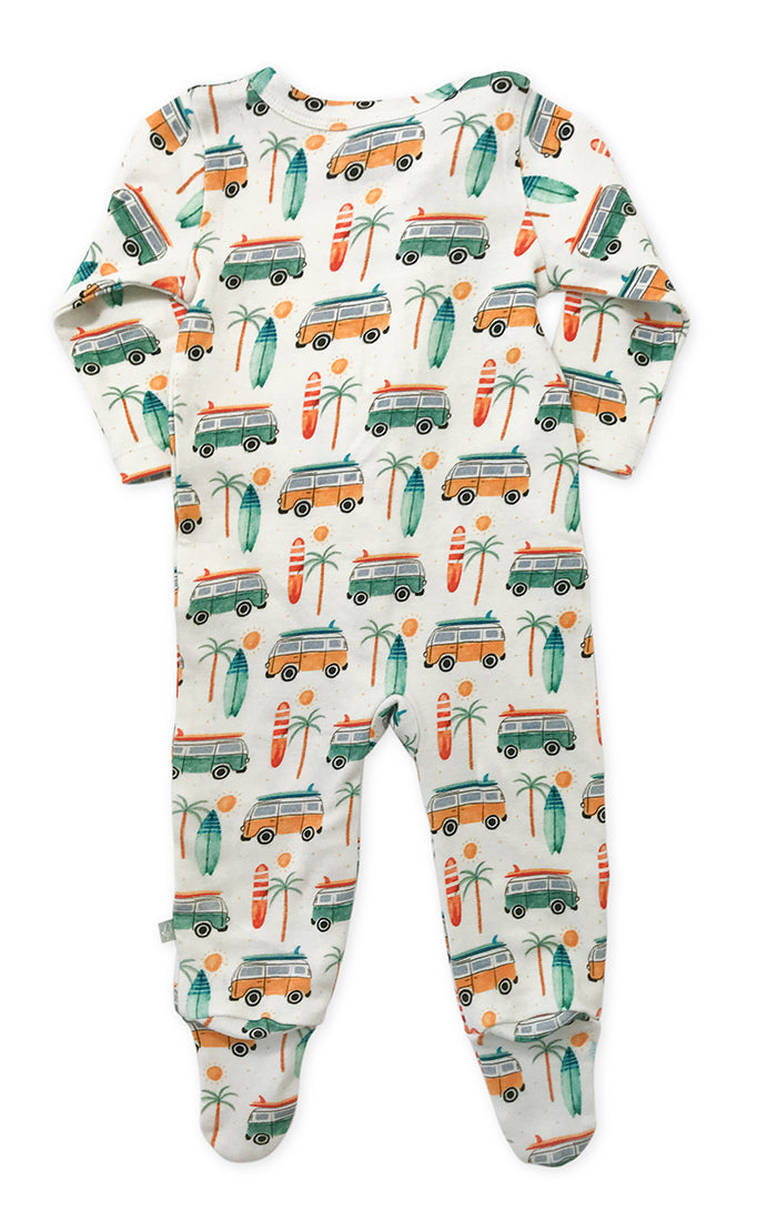 Beach Bum Footie Pajamas
