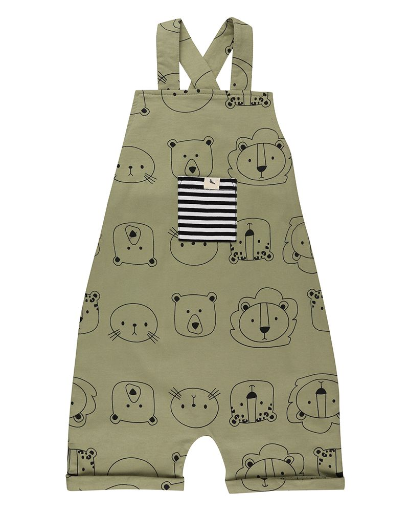 Cub Face Shortie Dungaree
