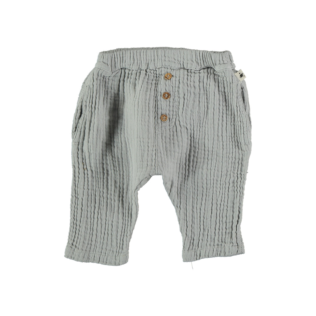 Liam Organic Bobble Baby Trousers