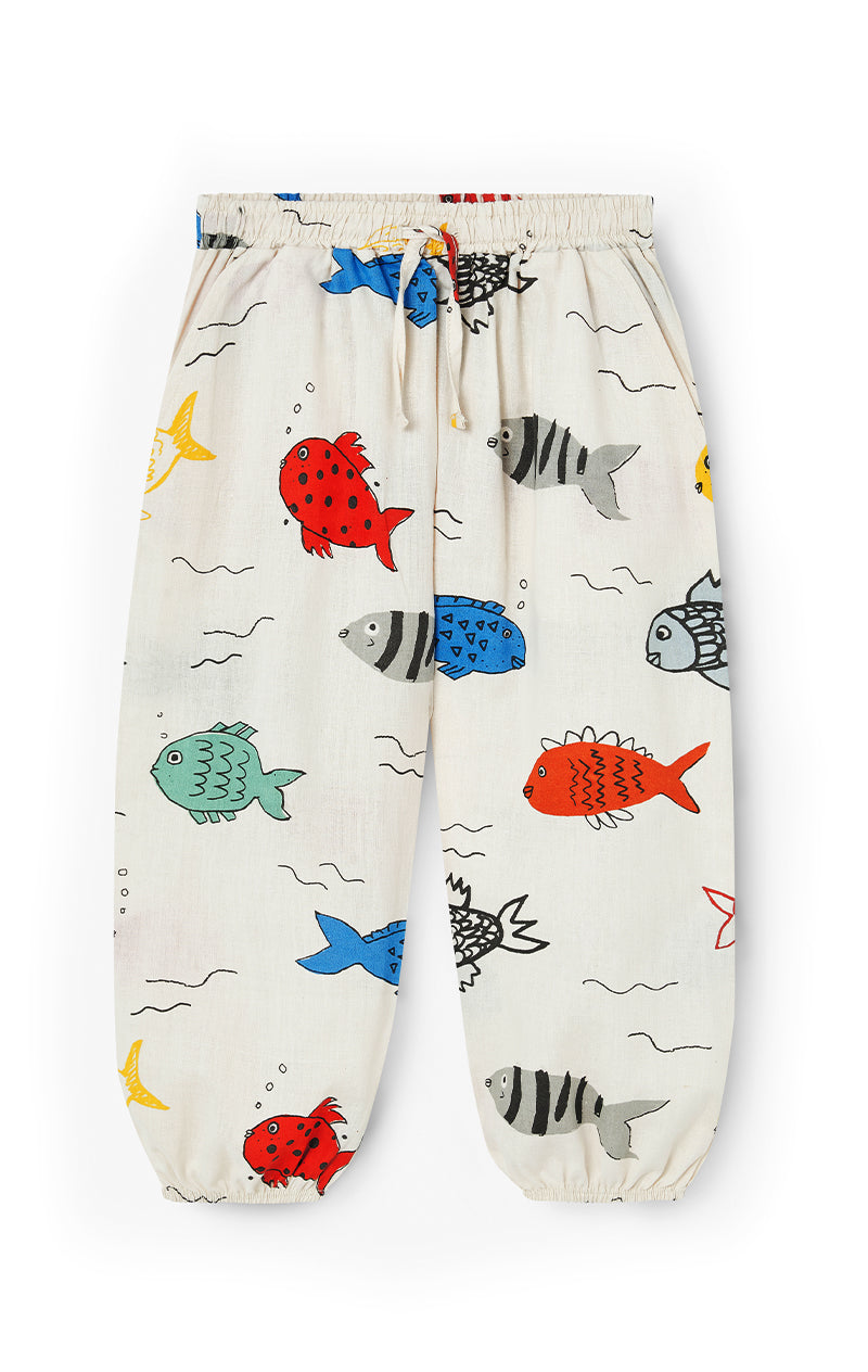 Fishes in the River Toddler Pant