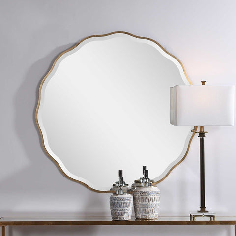 The Sonya Scalloped Mirror