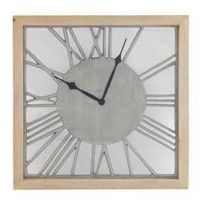 The Transparence Clock