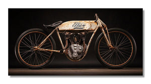 1912 Thor Board Track Racer Aluminum Print
