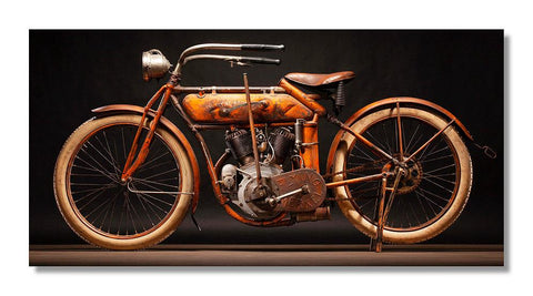1913 Flying Merkel 20x10 Aluminum Print