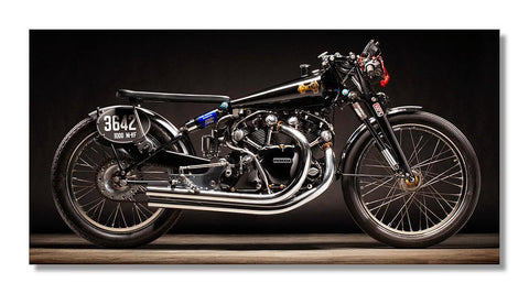 1950 Vincent Black Lightning Aluminum Print