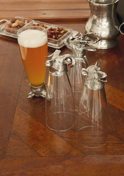 Animale Stag Pilsner Glass