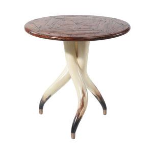 Horn Side Table