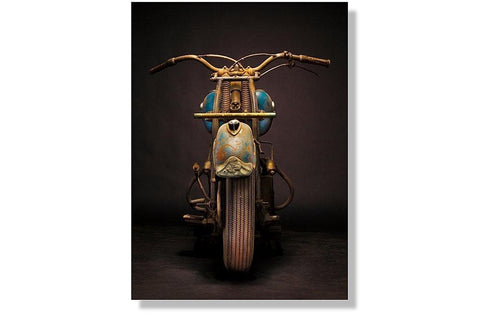 1946 Indian Chief Aluminum Print