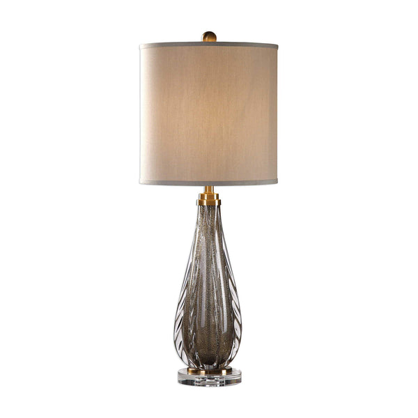 Glass Buffet Lamp