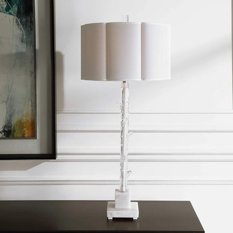 Clear Forest Table Lamp