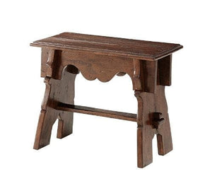 Antiqued Wood Stool
