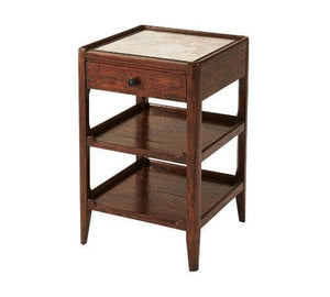 The Stephen Marble Side Table