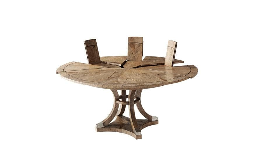 The Reagan Oak Puzzle Table
