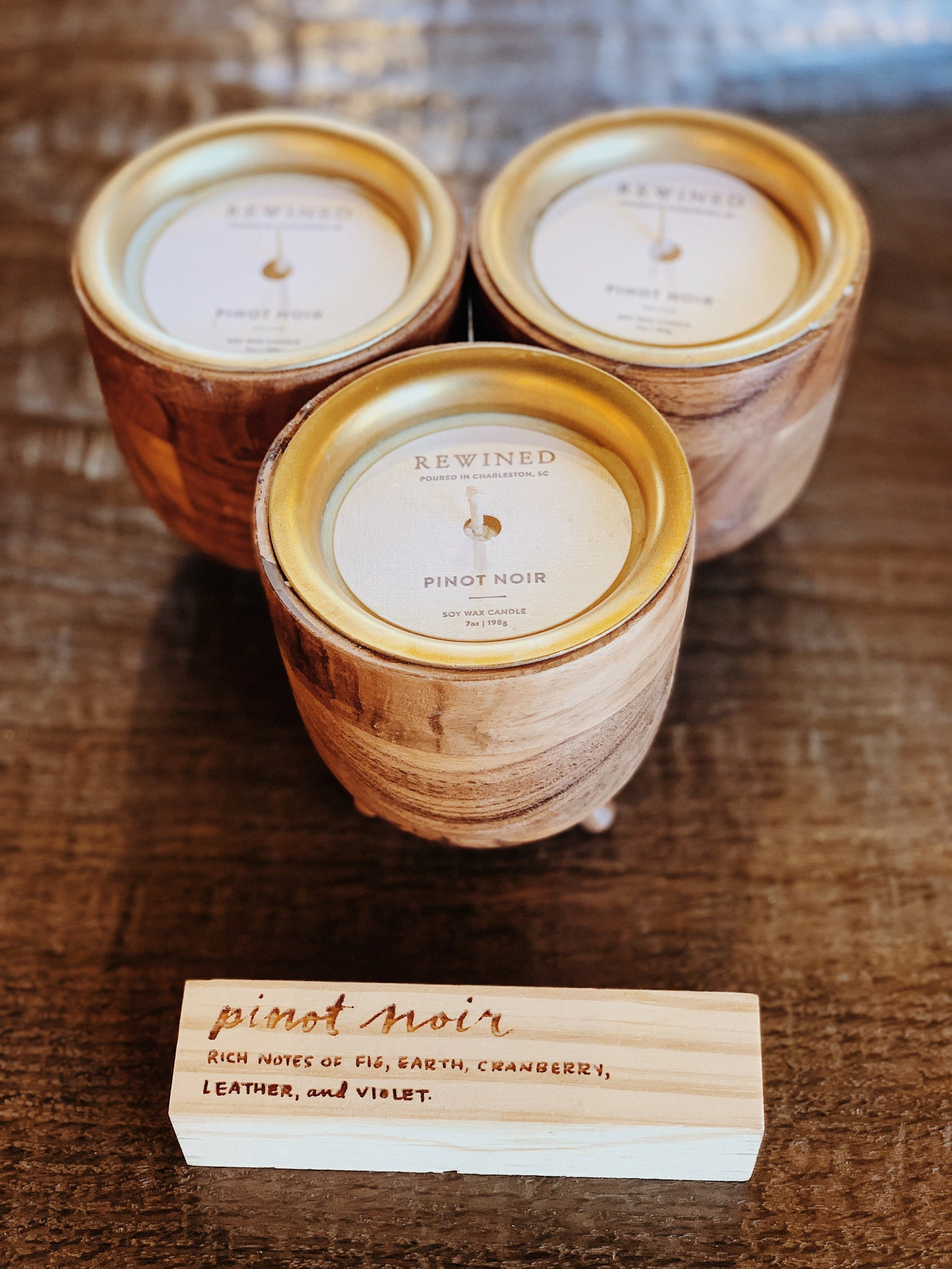 Pinot Noir Barrel Candle