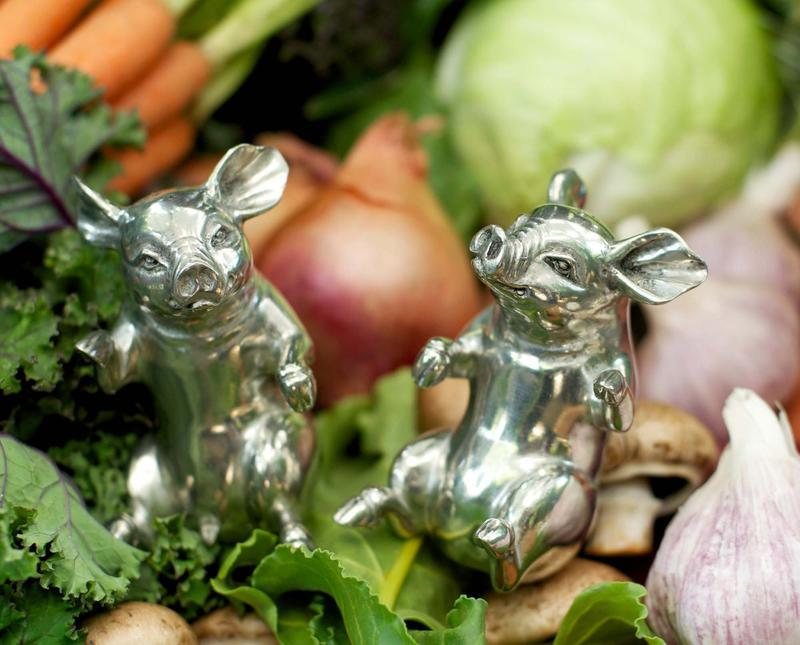 Happy Pigs Salt And Pepper Set