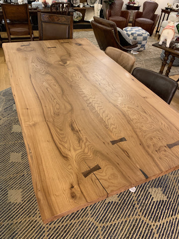 Chestnut Live Edge Table