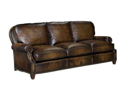 Hand Rubbed Leather Sofa