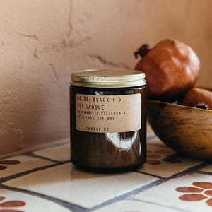 Black Fig Soy Candle