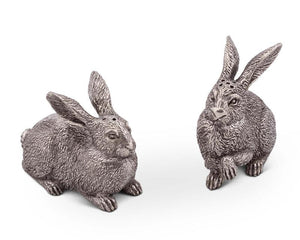 Wild Hare Salt And Pepper Set