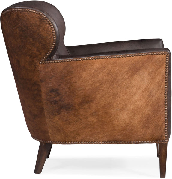 The Jordan Hide Leather Chair