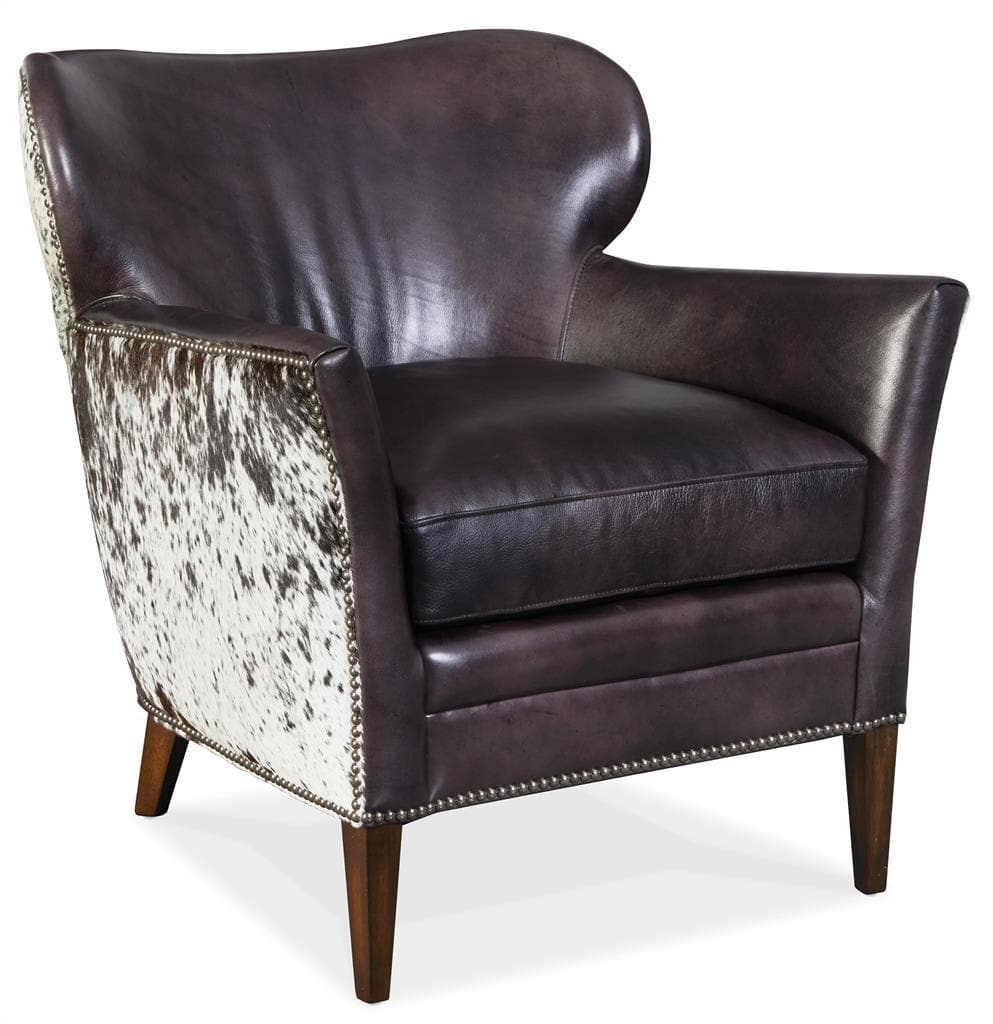 Fine The George Cowhide Leather Chair Alphanode Cool Chair Designs And Ideas Alphanodeonline