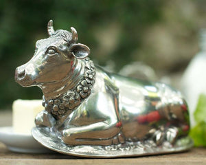 Bertha Cow Butter Dish